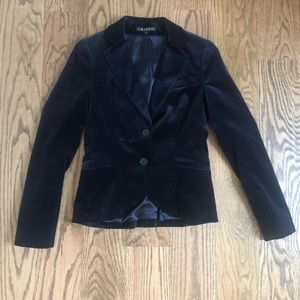 Theory Dark Purple velvet blazer
